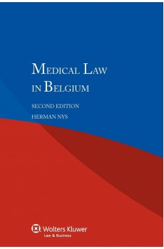 Medical Law in Belgium - 2nd edition - Herman Nys