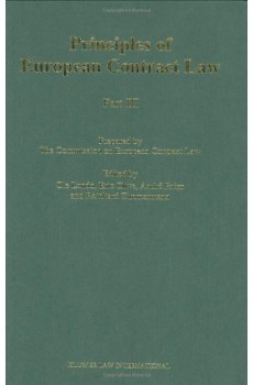 Principles of European Contract Law - Part III - Ole Lando, André Prüm, Eric Clive, Reinhard Zimmerman