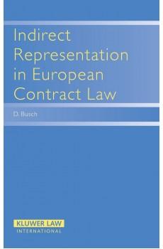 Indirect Representation in European Contract Law - Danny Busch