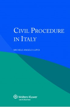 Civil Procedure in Italy - Michele A. Lupoi